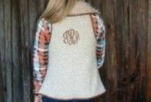 monogram vest