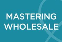 Mastering Wholesale / Mastering Wholesale is self-paced course designed to teach you the fundamentals of building and growing a thriving wholesale business on your terms. There are no time restraints, due dates, or appointments. Your rate of progress is completely in your hands! / by Flourish & Thrive