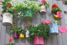 Paint Tin Wins / Creative up-cycled tin ideas, a DIY trick to make your paint go further than you think!