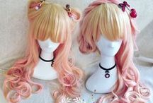 Wigs and hair styles