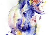 Horses (drawing)