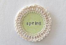 Spring ... / Jaro, velikonoce Spring - Easter / by Janina .