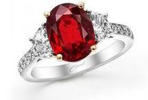 "Ravishing Reds / ""When in doubt, wear red."" -Bill Blass"