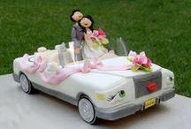 Торты свадебные.