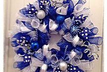Blue and Silver Christmas / Christmas Decor