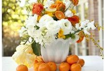 Orange Wedding Decor Ideas
