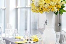 Yellow Wedding Decor Ideas