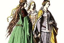 Medieval Fashion / by Rachel L. Demeter