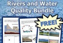 Rivers, Lakes, and Water Quality Unit / Teach a fantastic unit on Rivers, Lakes, and Water Quality at..  https://www.teacherspayteachers.com/Product/Rivers-Lakes-Water-Quality-Unit-110106