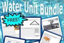 Water Molecule Unit / Teach a fantastic unit about the water molecule, water on earth, water conservation and more at...  https://www.teacherspayteachers.com/Product/Water-Unit-110217