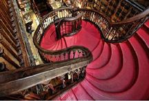 Stunning Bookstores & Libraries / by Rachel L. Demeter