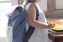 Sacos, malas e bolsas Pulguinhas / Sabemos que quando nasce uma Pulguinha… é precisa muita logística. Sacos, malas, bolsas... a organização nunca é demais