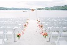 Dream Wedding Venues / Venue and Reception Inspiration