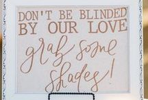 Quotes & Signs to Use in Your Wedding / These subtle quotes and delicate signs will add a sentimental touch to any wedding