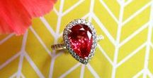 Sumptuous Spinels - New Birthstone for August! / The Spinel has officially been voted as a modern addition to the birthstone list for the month of August! (Officially recognized by AGS)