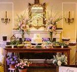 Decoración de boda estilo ecléctico