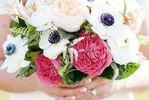Ramos de flores con anémonas
