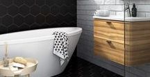 Scandinavian Minimalism / Bringing the ever popular Scandinavian simplicity into the bathroom.