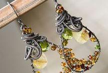 Handmade Jewelry / Handmade jewelry, swarovski, bali style, minimalist, sleek, tibetan, wire work, earrimgs, bracelets,necklaces
