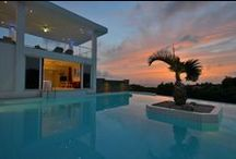 Perfect Pools  / Pools with unique features and swoon-worthy views.