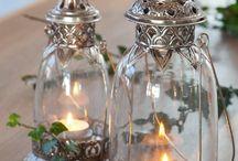 Lanterne,lumière, bougie et compagnie