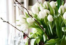 Arrangement floral & Verdure...