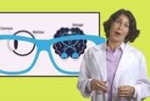 Kids and Eye Health / Fun ways for kids to learn about vision and taking care of their eyes.