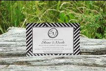 Chic Design - Wedding Invitations / Custom made and from the shelf invites