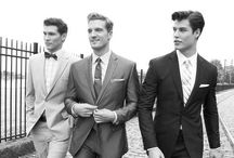 Just Lovely / Uh, men in suits. There's no need for an explication.  / by Nana Gonzalez