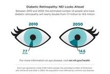 Diabetic Eye Disease / Set your sight on healthy vision if you have diabetes.  Resources are available.
