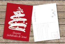 Crăciun | Cărți poștale / Cărțile poștale au dimensiune standard (aprox 11x15cm) potrivite pentru a fi timbrate și expediate oriunde în țară sau strainătate unde vrei să trimiți o bucățică din magia sărbătorilor de iarnă.  Pachetele de 3, 5 sau 7 bucăti, legate frumos cu o fundită de Crăciun, se pot comanda în PM pe facebook-ul Cherry&Cherry PRINTS sau la adresa de mail cherryandcherry.prints [at] gmail.com.                 https://www.facebook.com/media/set/?set=a.255444741270473.1073741833.162232570591691&type=1