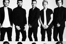 One direction <3 / El tablero sobre cinco chicos maravillos que siempre consiguen sacarme una sonrisa :)