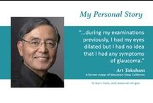 Personal Stories / Patients share their stories about living with eye diseases and conditions.