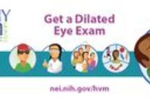 Infocards / Vision and eye health.