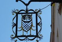 OWLS / Owls in every form; some artsy and some tacky. But who gives a hoot? / by aFoolforYarn