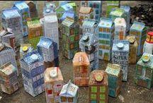 Thomas Boiteux / Maisons tetrapak recyclart