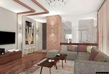 Luksusowy apartament // Extravagant apartment in loft&classy style / Projekt wnętrza luksusowego apartamentu #projekty wnętrz Kraków #projekty wnętrz Warszawa