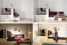 Tiny spaces - pratical ideas - convertibles / by ArchEly
