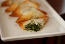 Step-by-Step: Spinach and Feta Phyllo Triangles