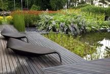 outdoor - gardening - swimming pool - terrace / Gardens, patio, terrace, garden design...