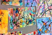 Elementary Projects for Art to Remember / Art to Remember orders are created on our very own 80 lb paper sent to your school.  Please, no oil pastel or chunky glue-on items.  Our scanners love markers and paints best! / by Art to Remember