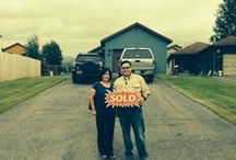 Sold! / Photos of homes we've sold and the people who've purchased them.