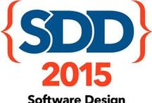 Leading up to SDD 2015 / SDD 2015 is up and running!