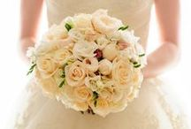 Wedding Bouquets / Beautiful flowers on a wedding day