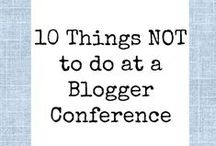Blogging and writing / Articles I've found (or written!) about blogging & how to be a better blogger.