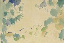 Watercolor / various watercolor paintings