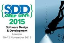 SDD 2015 Deep Dive / New event - SDD Deep Dive  After a successful SDD 2015 last week, we're pleased to announce a new spin-off conference, which will take place in London in November.  SDD Deep Dive offers a choice of six intensive 3-day workshops, presented by world-class speakers.  Full details will be available on the SDD website soon.