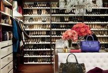 Glam Room / Makeup vanity, glam room in the home, closet goals