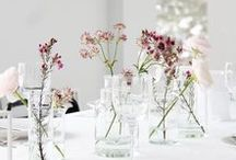 t a b l e  s c a p e / lovely table setting ideas. rustic, natural and inspired by the scandinavian light & nature.