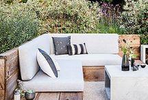 Urban garden, patio, little garden